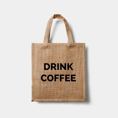 Drink Coffee Eco Bag