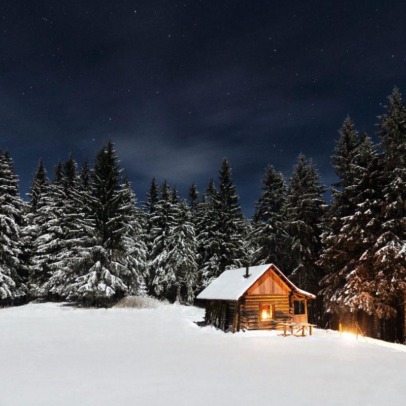 Cabin scenes