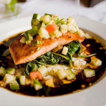 Salmon in Sauce