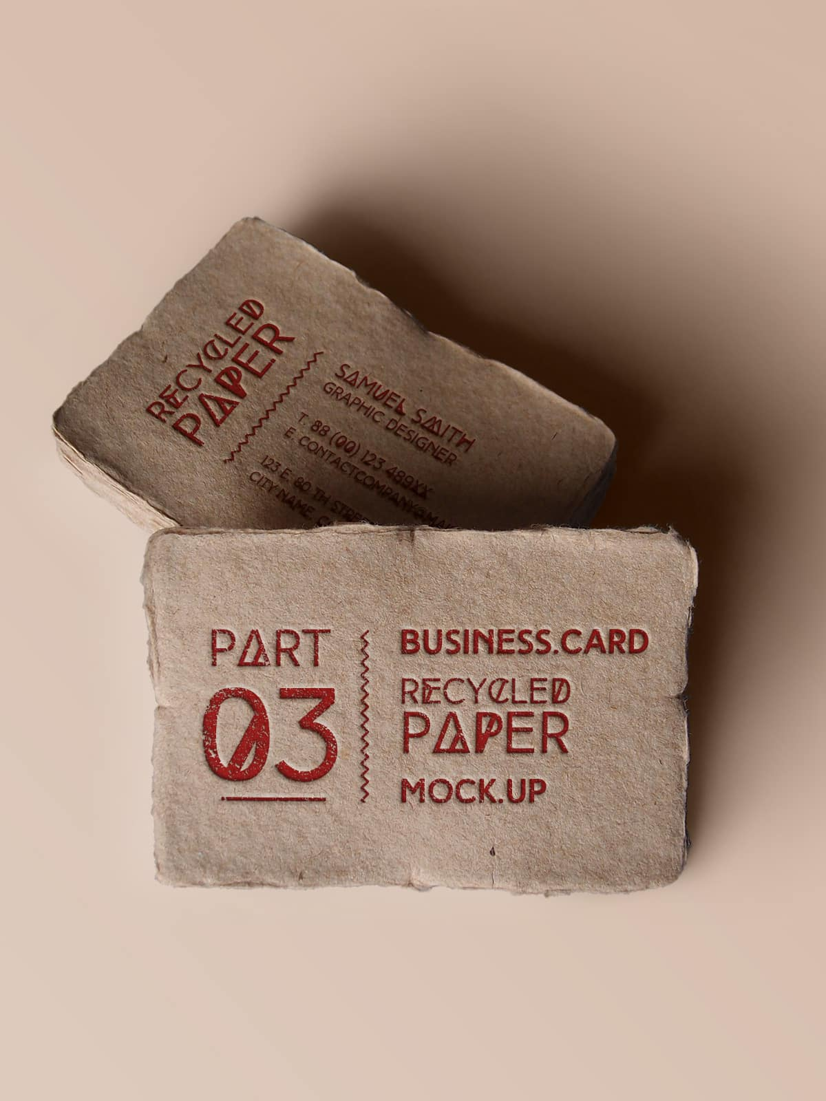 Recycled Paper Business Card – Virtue Premium
