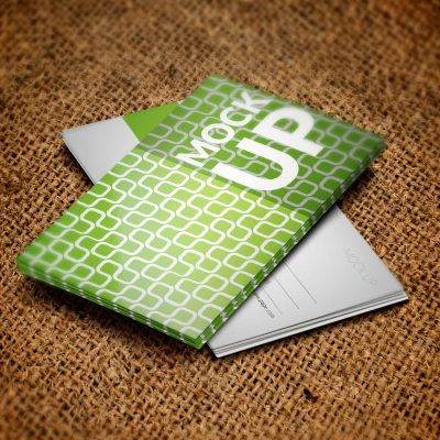 Psd Business Card Green